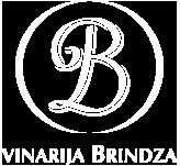 b logo white text